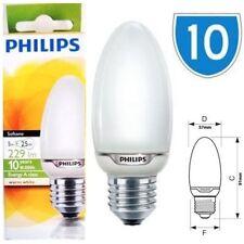 Ampoules bougies blancs pour la maison E27