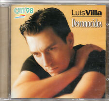 "LUIS VILLA ""DESCONOCIDOS"" SPANISH CD SINGLE / FESTIVAL OTI 1998 - NEW & SEALED"