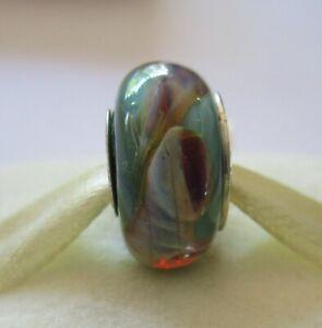 Genuine Chamilia Sterling Silver Murano Glass Whirlwind OB-187