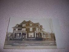 1912 BOARDING HOUSE? EAST ORANGE NJ. RPPC REAL-PHOTO POSTCARD