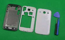 White Housing Middle Frame+Front+Battery Cover For Samsung GT-i8262 i8260