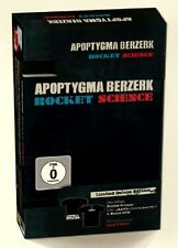 APOPTYGMA BERZERK Rocket Science - Deluxe Edition - CD + DVD + Girlie Shirt M