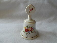 Staffordshire China Bell-Floral Pattern