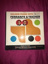 GOLDEN PIANO HITS FERRANTE & TEICHER AND THEIR ORCHESTRA VINYL LP ALBUM 1961 EX
