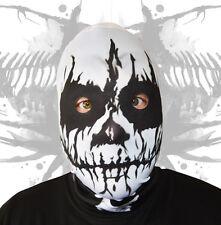 3D EFFECT VOODOO SKULL HEAD FACE SKIN LYCRA FABRIC FACE MASK HALLOWEEN HORROR
