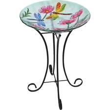 Best Garden Dragonfly & Flower Bird Bath 2824862  - 1 Each