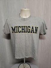 Michigan University Adult Gray XS TShirt