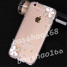 Glitter Luxury Crystal Bling Rhinestone Diamonds Soft Silicone Case Cover AA-1