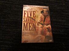 FIVE SAVAGE MEN, DVD, CINEMA DELUXE, GREAT SHAPE