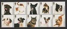 GB 2010 BATTERSEA DOGS AND CATS HOME STAMP SET