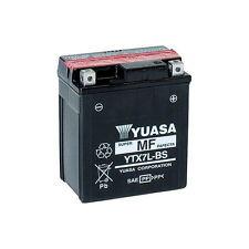 BATTERIA YUASA YTX7L-BS, 6A, POSITIVO DX, 114X71X131MM CODICE 0650690