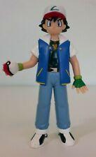 VINTAGE POKEMON  ASH  Ketchum 1998 TOMY Nintendo Rare Toy Figure 4.5 Inch