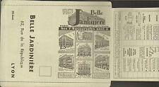 LYON LA BELLE JARDINIERE ENCART PUBLICITAIRE 1933