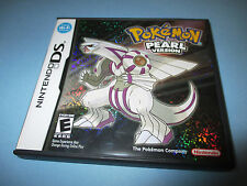 Pokemon Pearl Version (Nintendo DS) Lite DSi XL 3DS 2DS w/Case (No Manual)