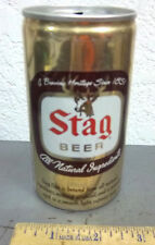 STAG pull top style beer can, Oklahoma printed on top, great graphics & colors
