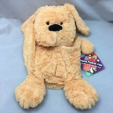Puppy Dog Animal Pocket Pal Organizer Pouch Plush Toy NWT TV Products USA 2013