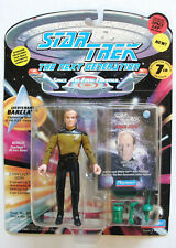 STAR TREK TNG ~ Lt. BARCLAY 7th Season Playmates Action Figure MOC