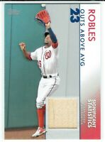 2020 Topps Series 2 Victor Robles Significant Statistics Relic Bat Card 26/99🔥