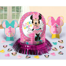 Minnie Mouse 1st Birthday Party Supplies 23pc Table Decorating Kit Centrepieces