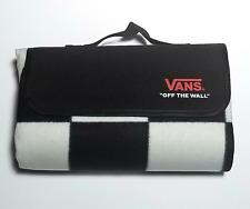 Vans Picnic Travel Blanket Checkerboard Black and White Checker Board Summer Mat