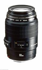 Canon EF 100 mm f/2.8 Macro USM Lens - Black - New - UK