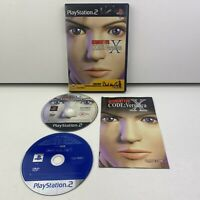 Resident Evil Code Veronica X (PAL) Sony Playstation 2 (PS2) Manual & Demo