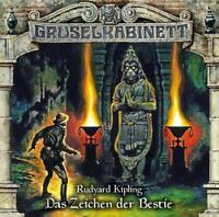 DAS ZEICHEN DER BESTIE - GRUSELKABINETT-FOLGE 142   CD NEW