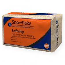 Snowflake Softchip High Performance Bedding, Shavings, Wood Chip Approx. 20 kg