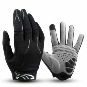 Full Finger Gloves Cycling GEL Pad Shockproof MTB Mountain Bike Winter Clothing