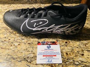 Cristiano Ronaldo Juventus F.C. Autographed Soccer Cleat Shoe with COA