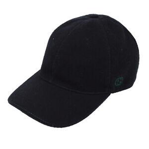 GUCCI Sherry Line GG Baseball Cap Hat Wool #60/XL Authentic NR14009i