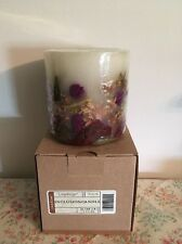 Longaberger Botantical Fields Inclusion Candle - New