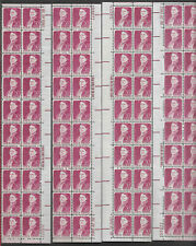 More details for usa-united states 1968 50c postage lucy stone 4 strips of 20 [80] scot 1293 mnh.