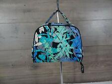 Vera Bradley Camofloral Cosmetic Jewelry Organizer Travel Bag