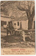 "CGH: EDVII Postcard, ""Nooitgedacht"" Platteklip: Cape T-Thornton Heath,4 Jul 1906"