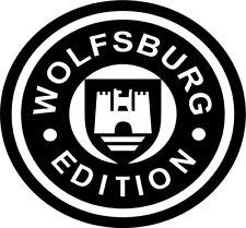 VW WOLFSBURG EDITION VOLKSWAGEN BUS CAMPER T4 T5  STICKER DECAL GRAPHIC FREE P&P