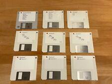 Apple Macintosh SE 30 Handbücher, Disketten, Garantiekarten, Werbung, Aufkleber