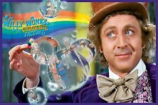 WILLY WONKA - RAINBOW MOVIE POSTER - 24x36 - GENE WILDER 241393