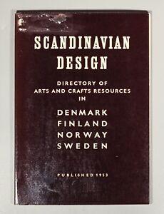 rare Moller, Vigo Sten Scandinavian Design 1953 catalogue Wegner Orrefors Arabia