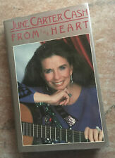 June Carter Cash From The Heart 1987 Autographed hardcover Book 1987 1st edition