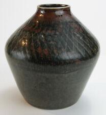 Rorstrand Brown/Green Atelier Vase Carl-Harry Stalhane