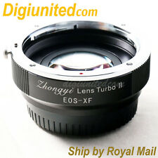 Zhongyi Lens Turbo II Reducer Booster Canon EOS EF to Fujifilm FX Adapter X-Pro2
