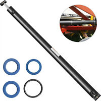 """Hydraulic Cylinder Welded Double Acting 2"""" Bore 28"""" Stroke Cross Tube 2x28 SAE6"""