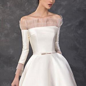 UniqueDesigne white High-end custom dress Bridal Dresses Wedding evening 2021New