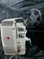 DeJur Model 500 8mm Projector Tested Works In Travel Case