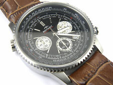 Men's Rotary Aquaspeed Chronograph White Dial Stainless Steel GS00100/08
