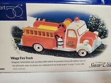 New ListingDepartment 56: Village Fire Truck - Snow Village