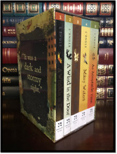 A Wrinkle in Time Quintet 5 Vol. Box Set by Madeleine L'Engle New Sealed Deluxe