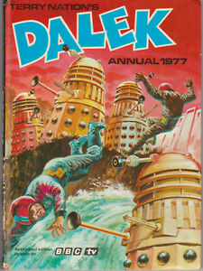 RARE: Dalek Annual 1977. Doctor Who. Unclipped price tag.