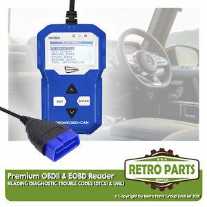 Premium OBD2 EOBD Code Reader For Saab. Diagnostic Tool MIL DTCs EVAP